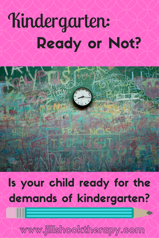 Kindergarten: ready or not?