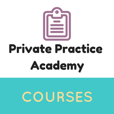 Link to Private Practice Academy courses