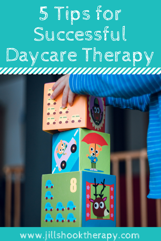 5 Tips for Successful Speech Therapy at Daycares