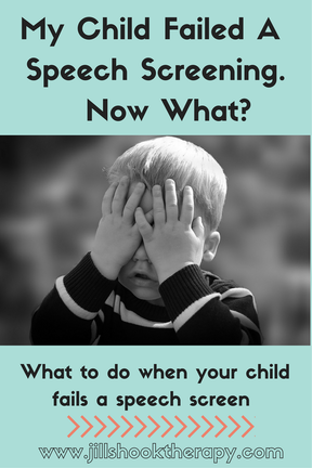 What to do when your child fails a speech screen